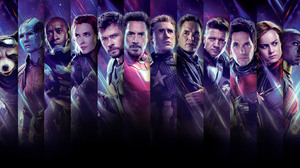 Ant Man Avengers Avengers Endgame Black Widow Brie Larson Bruce Banner Captain America Captain Marve 11340x6000 Wallpaper