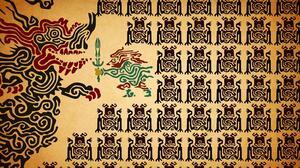 Ganondorf Link Nintendo The Legend Of Zelda 3072x1728 wallpaper