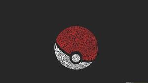 Pokemon Typography 1920x1080 Wallpaper