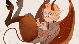 Blonde Boy Demon Horns Pointed Ears South Park Phone Destroyer Tail Tweek Tweak Wings 2048x1563 Wallpaper