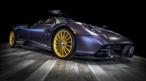 Car Vehicle Purple Cars Pagani Pagani Huayra Supercars 3840x2160 Wallpaper