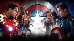 Iron Man Vision Marvel Comics Chris Evans Jeremy Renner Robert Downey Jr Ant Man Scarlet Witch War M 1920x1080 wallpaper