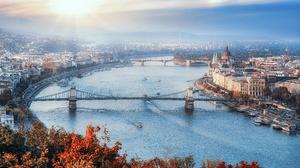 City Hungary River Bridge 3840x2160 Wallpaper