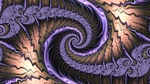 Abstract Colors Fractal Pattern Purple Swirl 1920x1200 Wallpaper