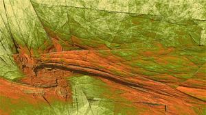 3d Abstract Artistic Cracks Digital Art Fractal Green Mandelbulber 3d Rock Stone 1920x1080 Wallpaper
