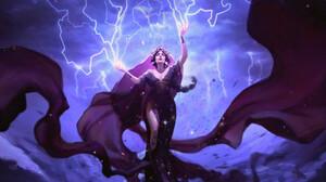 Sorceress 3334x2449 wallpaper