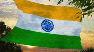 Artistic Flag Flag Of India 3840x2160 Wallpaper