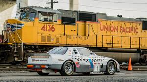 Car Chrysler Lebaron Coupe Mopar Race Car Train 2048x1152 Wallpaper
