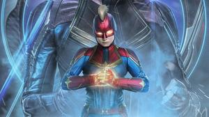 Captain Marvel 3000x1688 wallpaper
