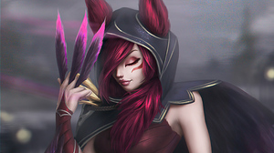 League Of Legends Xayah League Of Legends Paulina Bochniak 3840x2160 wallpaper