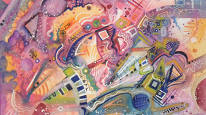 Colors Pastel Shapes 1924x1280 Wallpaper