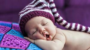 Baby Cute Sleeping 1920x1200 Wallpaper
