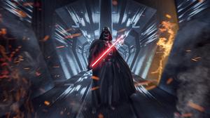 Darth Vader Lightsaber Sith Star Wars Star Wars 3840x2340 Wallpaper