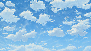 TJ Artist Digital Art Nature Sky Clouds 1920x1080 Wallpaper