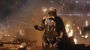 Armor Captain Phasma Destruction Gwendoline Christie Star Wars Star Wars The Last Jedi 1920x1080 Wallpaper