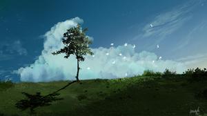 Tree Bird 3486x1821 Wallpaper