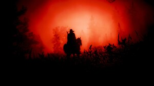 Red Dead Redemption Red Dead Redemption 2 Western Cowboy Video Games Screen Shot Trees Horse Red 1920x1072 wallpaper