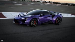 Fenyr Supersport Purple Cars Vehicle Car Benoit Fraylon 1920x1107 wallpaper