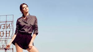 Kendall Jenner Women Model Sky Clear Sky Outdoors Dark Hair 1920x1080 Wallpaper