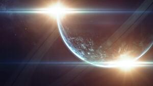 Sci Fi Planet 1920x1195 wallpaper