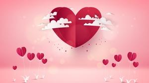 Heart Love Pink 3200x2000 wallpaper