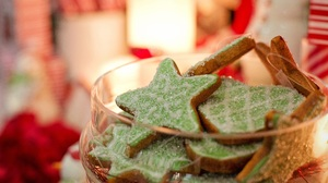 Christmas Cookie Star 5124x3504 Wallpaper