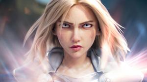 Lux League Of Legends League Of Legends Warrior Girls 3840x2160 Wallpaper