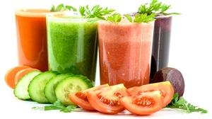 Carrot Cucumber Glass Juice Tomato Vegetable 4000x2554 Wallpaper
