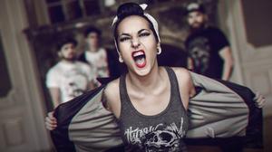 Jinjer Tatyana Shmayluk Metal Music 4077x2713 wallpaper