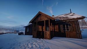 Battlefield 1 House Snow 2560x1440 Wallpaper