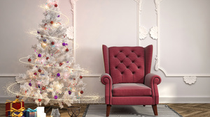Christmas Tree Gift 2560x1920 Wallpaper
