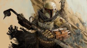 Star Wars Boba Fett Bounty Hunter Mandalorians 3394x1912 Wallpaper