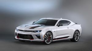 Chevrolet Camaro Performance Concept Car Muscle Car Coupe Car White Car 2560x1600 Wallpaper