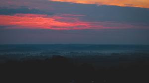 France Sunrise Outdoors Sky Sunlight Dark Landscape 5984x3366 Wallpaper