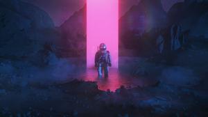 Astronaut 3000x1688 wallpaper