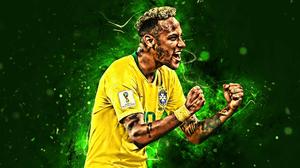 Brazil National Football Team Neymar Soccer 3840x2400 Wallpaper