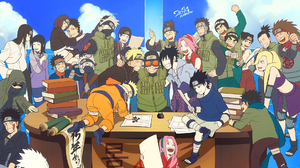 Naruto Naruto Uzumaki Sasuke Uchiha Sakura Haruno Kakashi Hatake Obito Uchiha Rin Nohara Hinata Hy G 1920x1344 Wallpaper