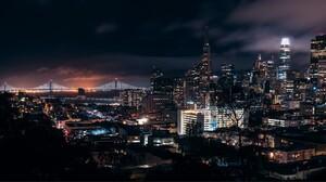 San Francisco Bay Bridge Skyline 1913x960 Wallpaper