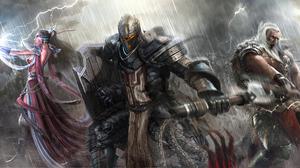 Barbarian Diablo Iii Crusader Diablo Iii Diablo Iii Reaper Of Souls Wizard Diablo Iii 4964x2000 Wallpaper