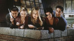 Courteney Cox David Schwimmer Friends Tv Show Jennifer Aniston Joey Tribbiani Lisa Kudrow Matt Lebla 2000x1486 Wallpaper