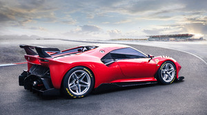 Car Ferrari P80 C Red Car Sport Car Supercar 3840x2160 Wallpaper