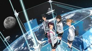 Anime Girls Anime 3393x2000 Wallpaper