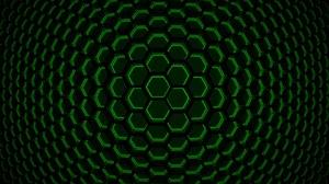 Abstract Hexagon 1680x1050 Wallpaper