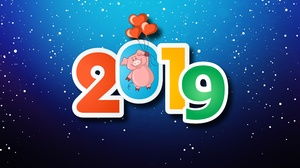 Holiday New Year 2019 5000x3000 Wallpaper