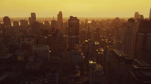 Video Game Art Video Games Spider Man Screen Shot Spiderman Miles Morales City Manhattan USA Sunset  1858x1040 Wallpaper