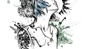 Chloe Price Life Is Strange Artwork Tattoo Sadness 1280x1280 Wallpaper
