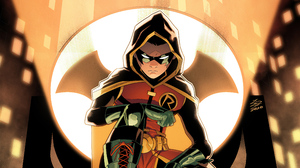 Robin Dc Comics Dc Comics Damian Wayne Bat Signal Boy 3840x2160 Wallpaper