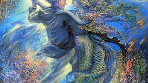 Artistic Fantasy Mermaid Painting 1600x1280 Wallpaper