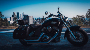 Motobike Motorcycle Indian Scout Vecicle Black The Crew 2 1920x1080 Wallpaper