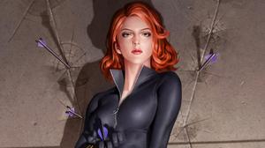 Marvel Comics Marvel Cinematic Universe Black Widow Junggeun Yoon 3840x2160 Wallpaper